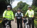 Police on bikes