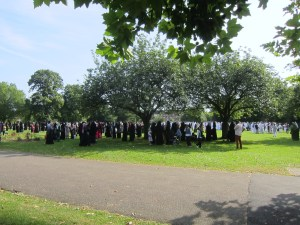 Eid in Wormholt Park