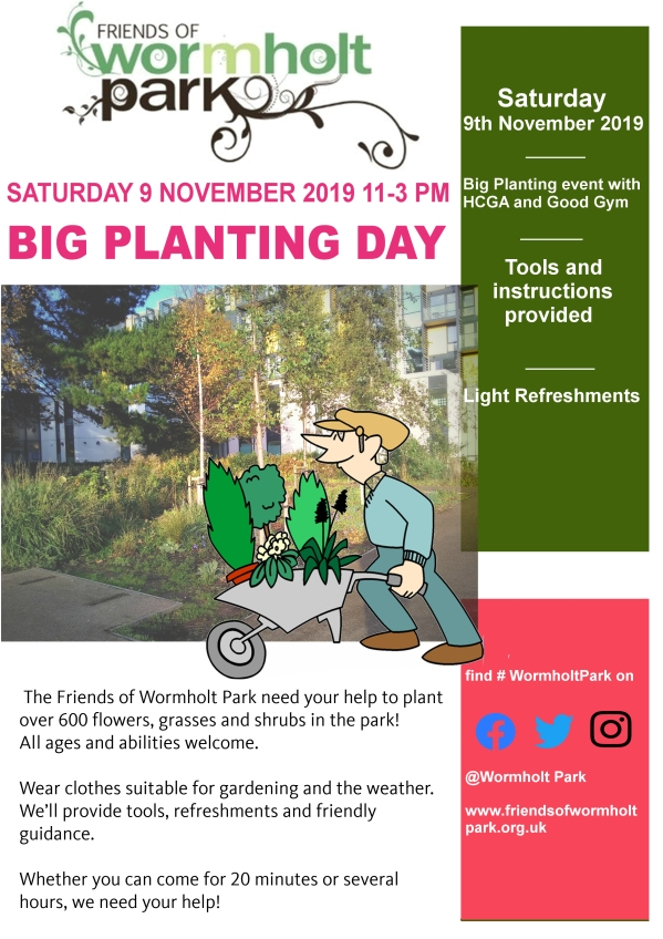 9 Nov Planting Day poster